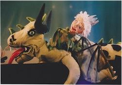 Rosa en de draak in Het Nederlands Marionettentheater op 22-4-2017